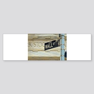 Wall Street! Bumper Sticker