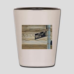 Wall Street! Shot Glass
