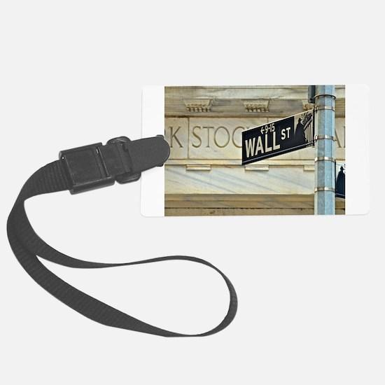 Wall Street! Luggage Tag
