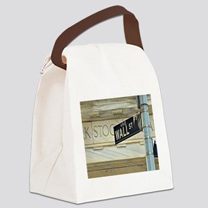 Wall Street! Canvas Lunch Bag