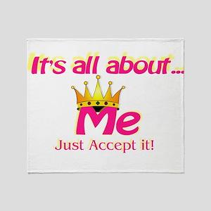 allmeAcceptit Throw Blanket