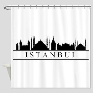 skyline istanbul Shower Curtain