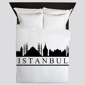skyline istanbul Queen Duvet