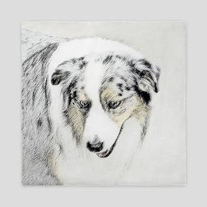 Australian Shepherd Queen Duvet