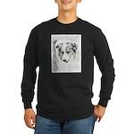 Australian Shepherd Long Sleeve Dark T-Shirt