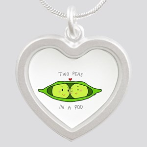 Two Peas in a Pod Necklaces