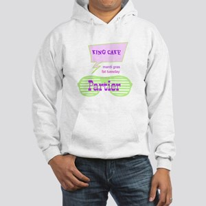 Fat T Party Men's Hooded Sweatshirt