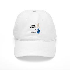 Stay Away I Got Gas Baseball Cap