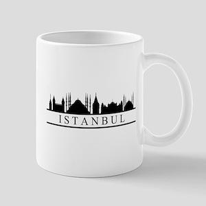 skyline istanbul Mugs