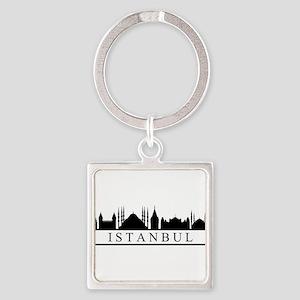 skyline istanbul Keychains