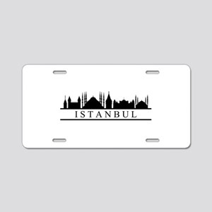 skyline istanbul Aluminum License Plate