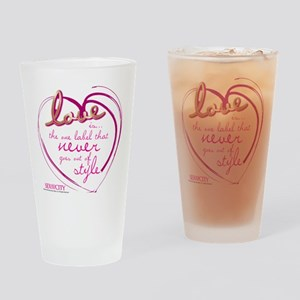 SATC Love Is The Thing Drinking Glass