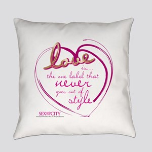 SATC Love Is The Thing Everyday Pillow