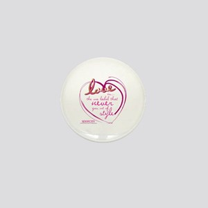 SATC Love Is The Thing Mini Button