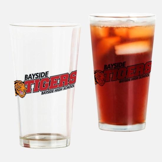 Bayside Tigers Modern Drinking Glass