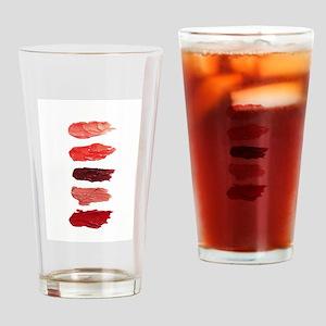 Lipsticks Drinking Glass