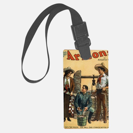 Funny Vintage musical theater Luggage Tag