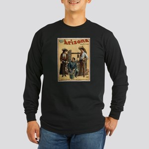 Vintage poster - Arizona Long Sleeve T-Shirt