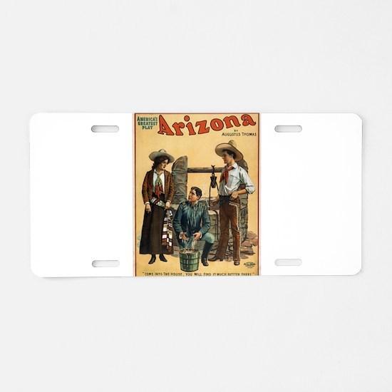 Vintage poster - Arizona Aluminum License Plate