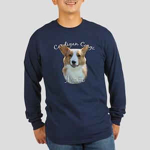 Cardigan Mom2 Long Sleeve Dark T-Shirt