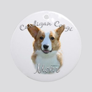 Cardigan Mom2 Ornament (Round)