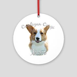 Cardigan Mom2 Ornament (Round)