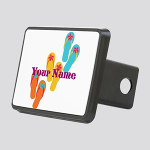 Personalized Flip Flops Hitch Cover