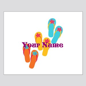 Personalized Flip Flops Posters
