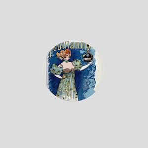 Vintage poster - Feuillantine Mini Button