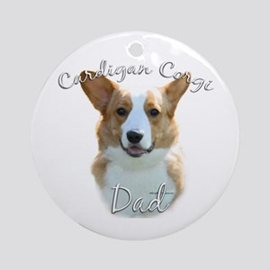 Cardigan Dad2 Ornament (Round)