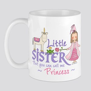 Unicorn Princess Little Sister Mug