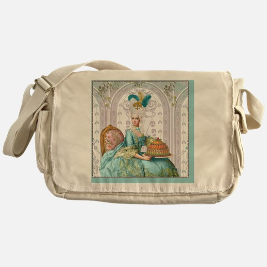 Cute Marie antoinette Messenger Bag