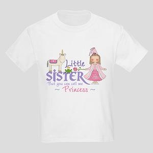 Unicorn Princess Little Sister Kids Light T-Shirt