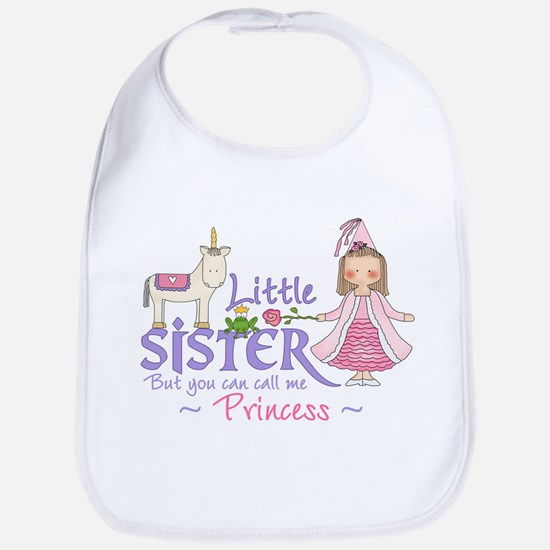Unicorn Princess Little Sister Bib