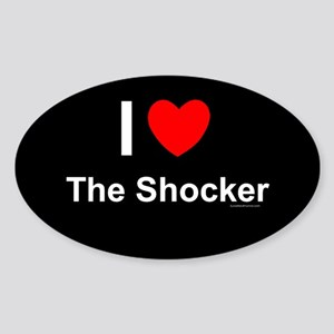 The Shocker Sticker (Oval)