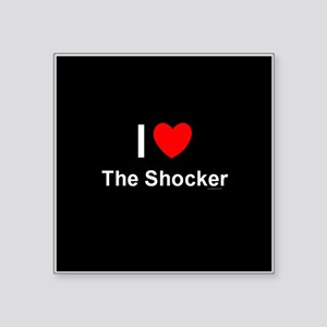 "The Shocker Square Sticker 3"" x 3"""