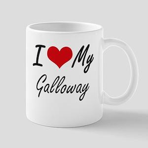 I Love My Galloway Mugs