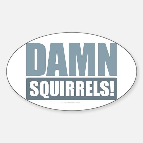 Damn Squirrels! Decal