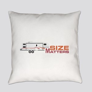 Size Matters Everyday Pillow