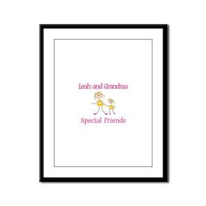 Leah & Grandma - Friends Framed Panel Print