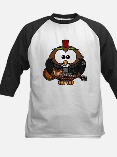 Punk Rock Owl Baseball Jersey