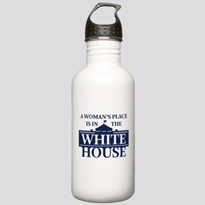 A Woman's Place is in Stainless Water Bottle 1.0L
