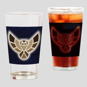 Electric Hawk Drinking Glass
