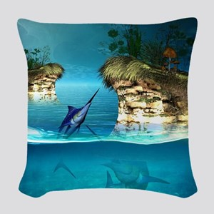 The dreamworld Woven Throw Pillow