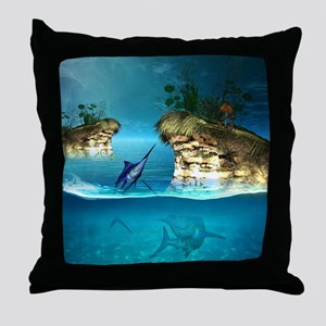 The dreamworld Throw Pillow