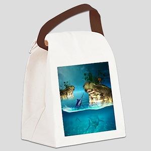 The dreamworld Canvas Lunch Bag