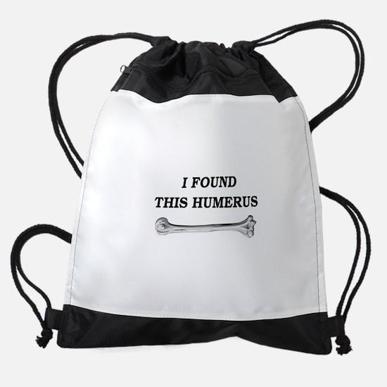 humerus-squarewhite.png Drawstring Bag