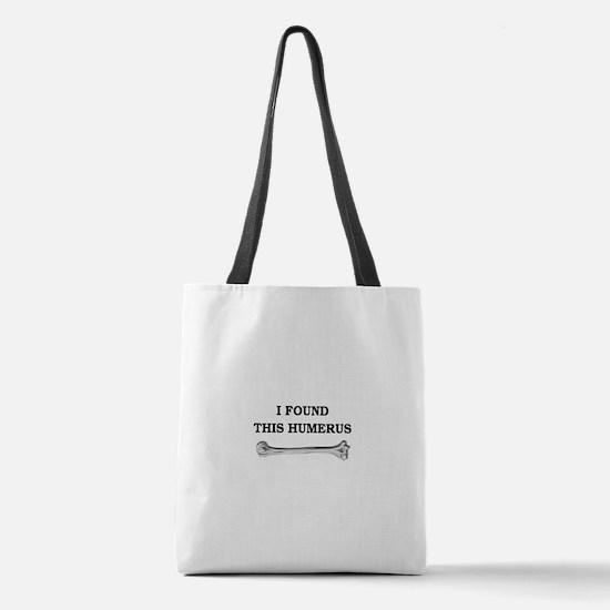 humerus-squarewhite.png Polyester Tote Bag