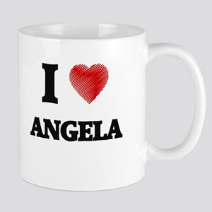 I Love Angela Mugs