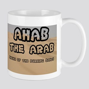AHAB THE ARAB - SHEIKH OF THE BURNING SANDS Mugs